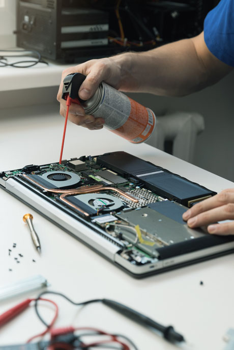 On-Site Techs can keep your computer hardware functioning the way it was designed to and perform preventative maintenance to avoid future breakdowns.